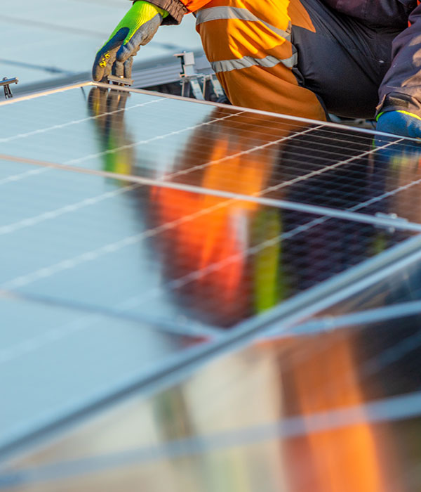 Solaranlage Montage ABW Technik